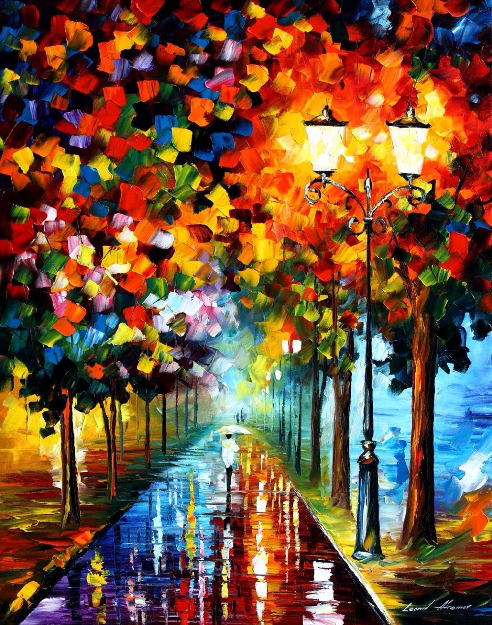 ᗑpainting for sale colorful oil paintings canvas burst of colors