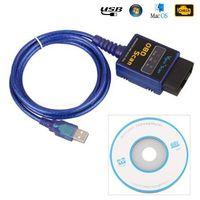Nowy diagnostyka Samochodowa USB ELM327 ELM 327 obd2 Auto Diagnostic Scanner narzędzie diagnostyczne obd easydiag 2CAN-BUS eml327 Code reader