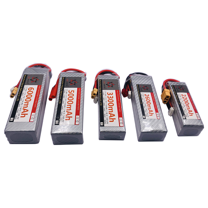 5s 18.5v RC Lipo Battery 6000 2200 2600 3300 5000mAh Lithium Ion Polymer Battery For Car Plane Boat Truck Tank Drone Helicopter
