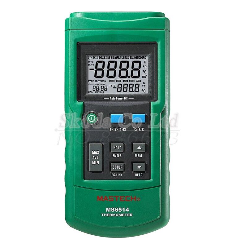 Free shipping MASTECH MS6514 single channel Temperature acqus