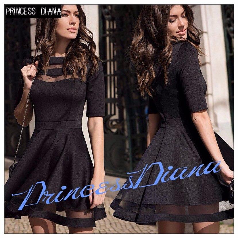 Womens font b Dresses b font New Arrival 2017 Summer Black European Casual Style font b