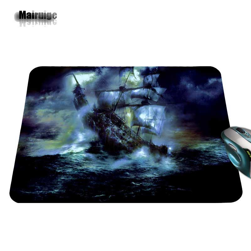 Pirate Ship In A Storm Print New Arrival Hot Selling Design High Quality Durable Computer font