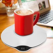 Нагреватель кофейных/чайных чашек, нагреватель для холодных кружек, нагреватель для напитков, поднос для молока, чая, кофе, кружка, нагреватель для горячих напитков, нагреватель для холодных напитков