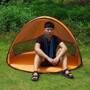 Image 4 - خيمة منبثقة فورية الطفل خيمة للشاطئ كابانا المحمولة المضادة للأشعة فوق البنفسجية الشمس المأوى للتخييم الصيد التنزه الخيام التخييم في الهواء الطلق