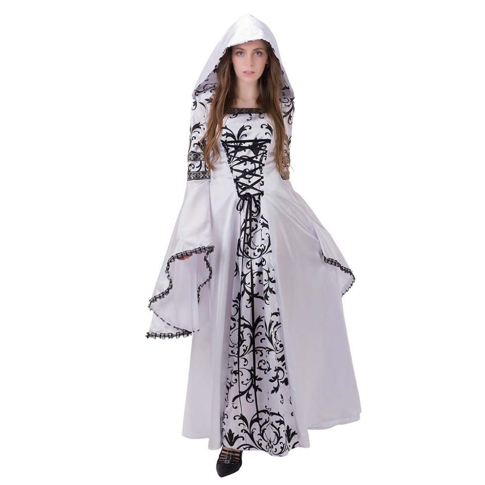 Black and White Masquerade Dress Promotion-Shop for Promotional ...