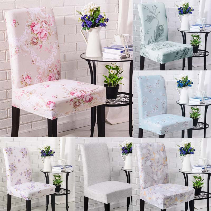 40X90cm Soft Stretch Chair Decor Dining Room Chair Cover Banquet Stool Slipcover
