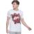 15 - 20 anos meninos grandes T - camisa caráter verão impresso Big crianças vestuário de moda da camisa branca de T adolescentes roupa tyh-30710