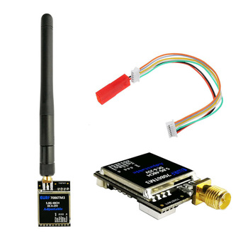 EWRF 7086TM3 5,8G 48CH 25/200/600mW transmisor de vídeo de Audio FPV inalámbrico de banda de carreras conmutable para Drones RC