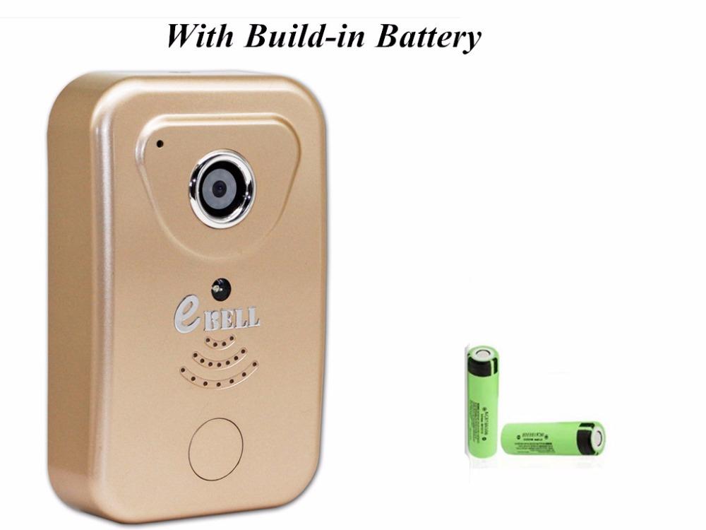P2P WIFI 720P Two Way Intercom Video Doorbell