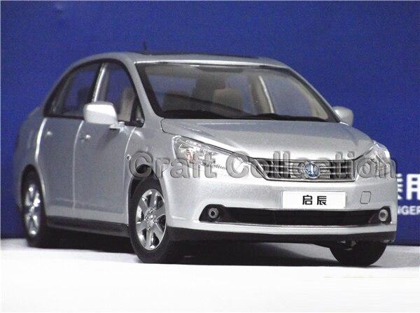 * Silver 1:18 Dongfeng Nissan VENUCIA D50 Sedan Metal Model Car Gifts Model Car Kits Simulation Model