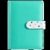 New Arrival A6 PU Leather Notebook Cute Office And School Supplies Notebook Korean Japanese Kawaii School