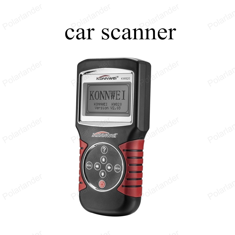 ФОТО hot!! Car Diagnostic Tool KW820 Fault Reader CAN OBD2 Engine Managment Works For US/Asian/European Vehicles