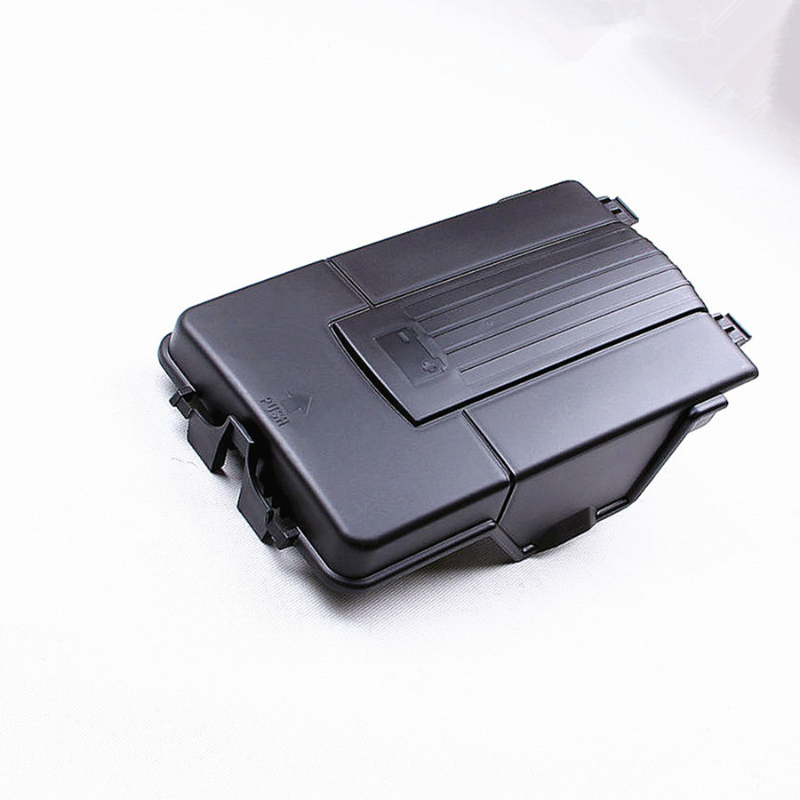 HONGGE Car Battery Tray Side Cover For VW Sharan Jetta Golf 5 MK6 Passat B6 Tiguan Octavia Seat Leon A3 Q3 1.8T 2.0T 1KD 915 443 ...