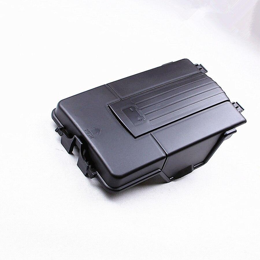 HONGGE Car font b Battery b font Tray Side Cover For VW Sharan Jetta Golf 5