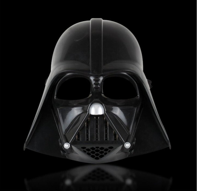 free shipping 1piece star wars darth vader halloween mask deluxe star wars maske superhero theme party - Halloween Darth Vader