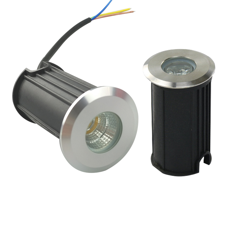 10 pces diodo emissor de luz luz subterranea 1 w 3 w 5 w cob lampada