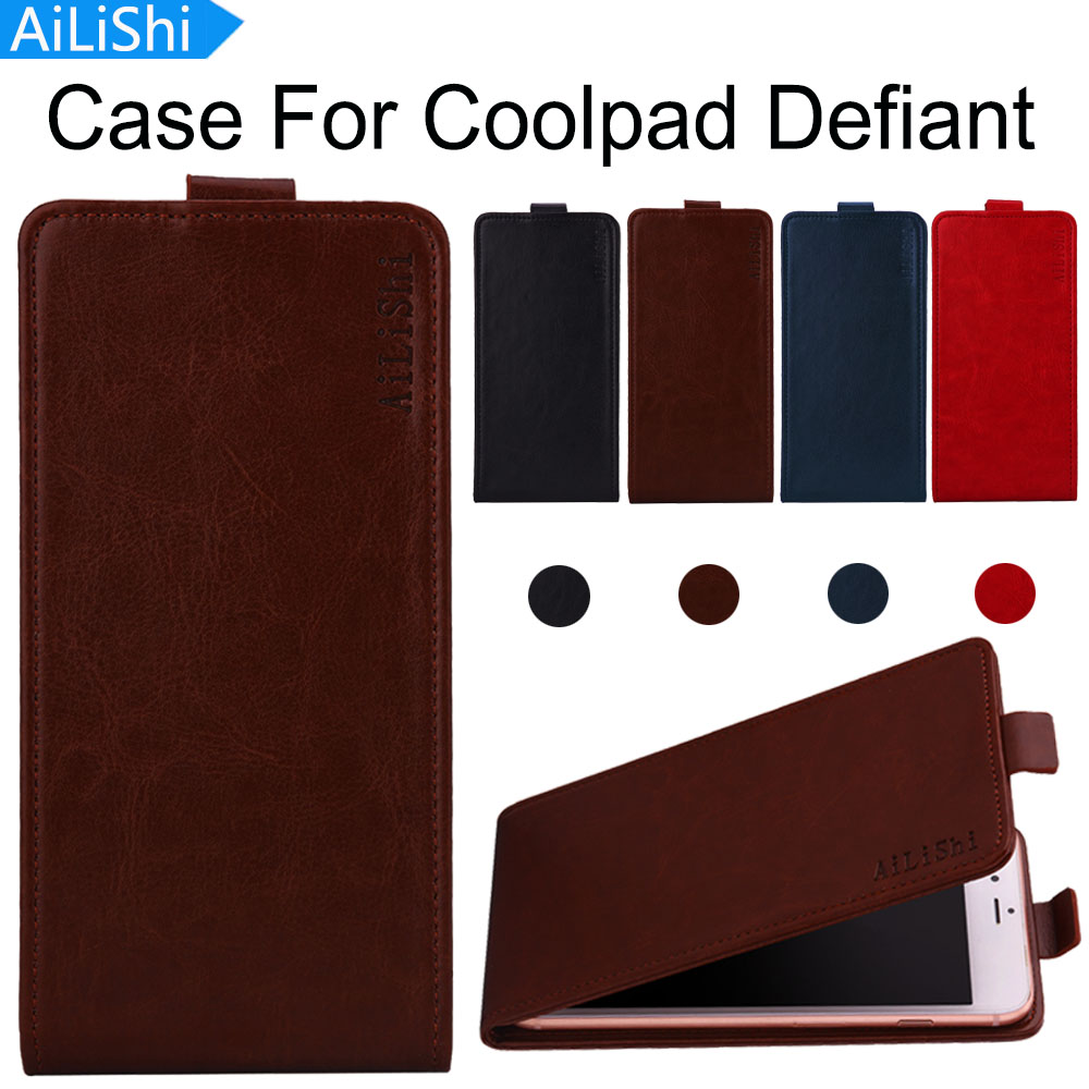 AiLiShi Factory Direct! Case For Coolpad Defiant PU Flip Luxury Leather Case Exclusive 100% Special Phone Cover Skin+Tracking