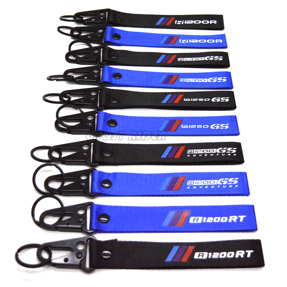 NEW Fashion Key Holder Chain Collection Keychain for BMW R1200R R1200GS ADVENTURE R1200RT R1250GS Motorcycle Fashion Keyring jewellery