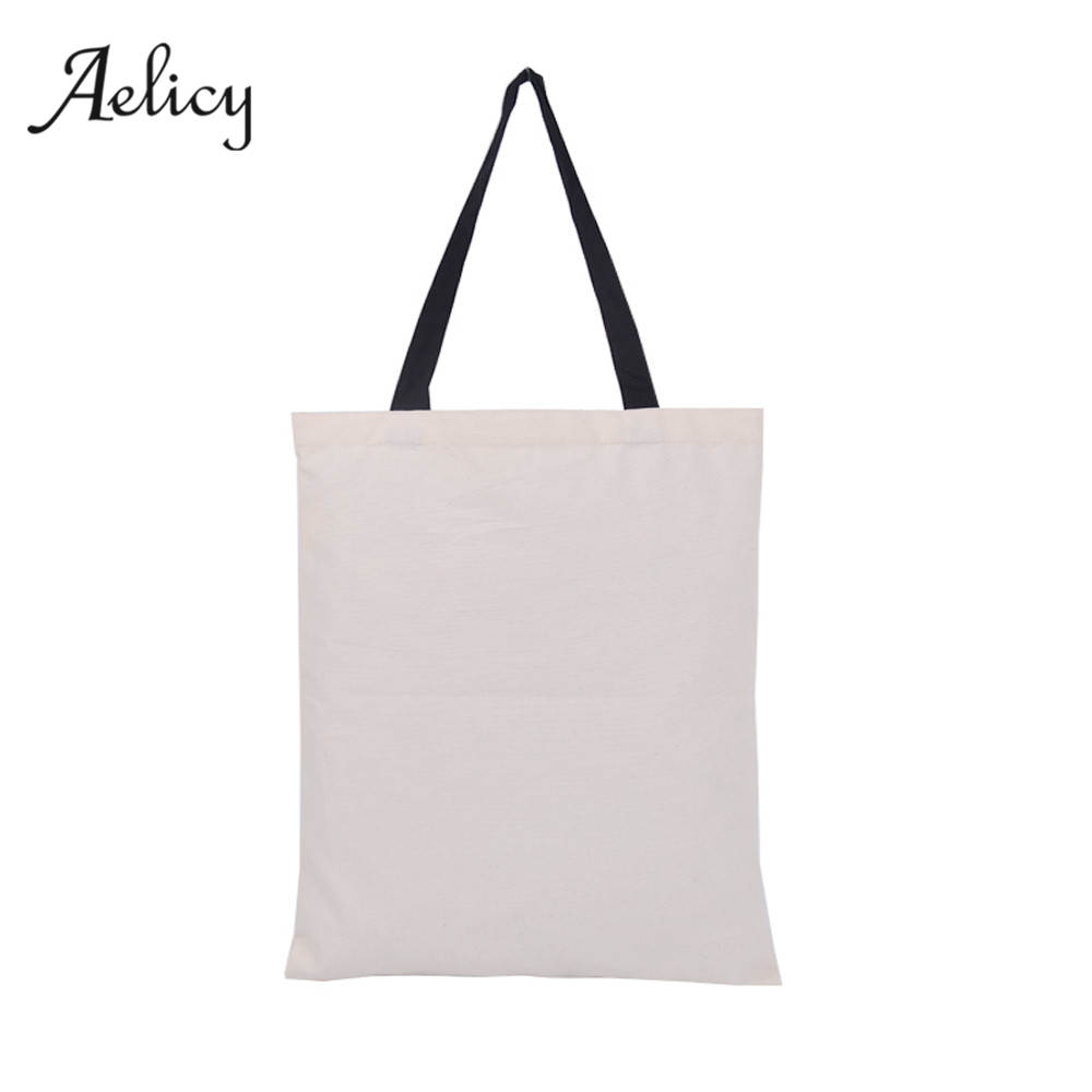 Candy Bag Gift Bag Canvas Tote Female Daily Use Female Shopping Bag Ladies Single Shoulder Handbag Beach Bags 2017