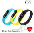 Smart C6 Wristband Bluetooth 4.0 Bracelet Wrist Watch Design for Android Phones Wearable Electronic For Android 4.4 iOS 7.0