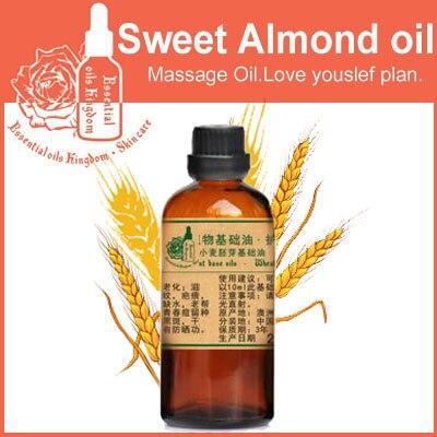 100% pure plant base oils Australia wheat germ oil 100ml moisturizing Vitamin E,Replenishment,Antioxidant,Delay cell senescence