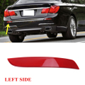 Left Red Lens Rear Bumper Reflector Fog Warning Light Cover For BMW F02 F03 F04 7-Series 730i 740i 750i 760i ALPINA B7 #W096-L