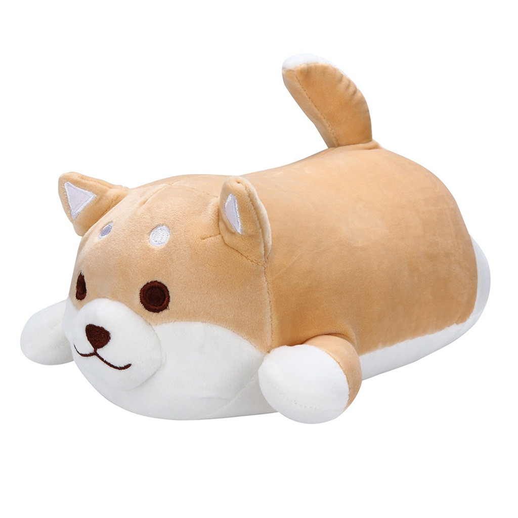 Shiba Inu Dog Fat Plush Toy 36//55 cm Stuffed Soft Kawaii Animal Cartoon Pillow