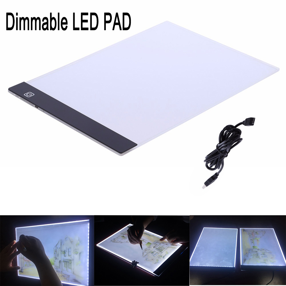 3 Level Dimmable Led Light Pad,Tablet,Tools,Accessories for Diamond Painting Eye Protection A4 Size Diamond Embroidery3 Level Dimmable Led Light Pad,Tablet,Tools,Accessories for Diamond Painting Eye Protection A4 Size Diamond Embroidery
