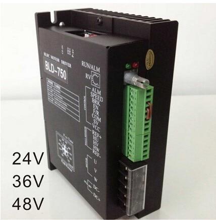 24V 36V 48V BLDC Motor Driver Controller 750W 18V-50V DC Brushless DC Motor Driver BLD-750