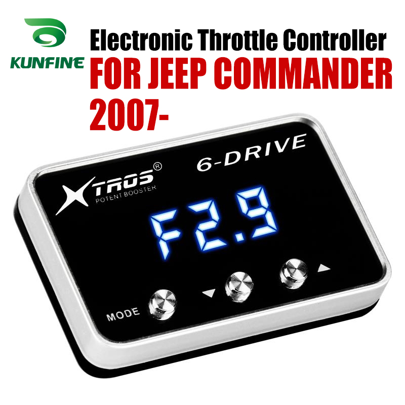 Car Electronic Throttle Controller Racing Accelerator Potent Booster For JEEP COMMANDER 2007-2019 Tuning Parts Accessory Car Electronic Throttle Controller Racing Accelerator Potent Booster For JEEP COMMANDER 2007-2019 Tuning Parts Accessory
