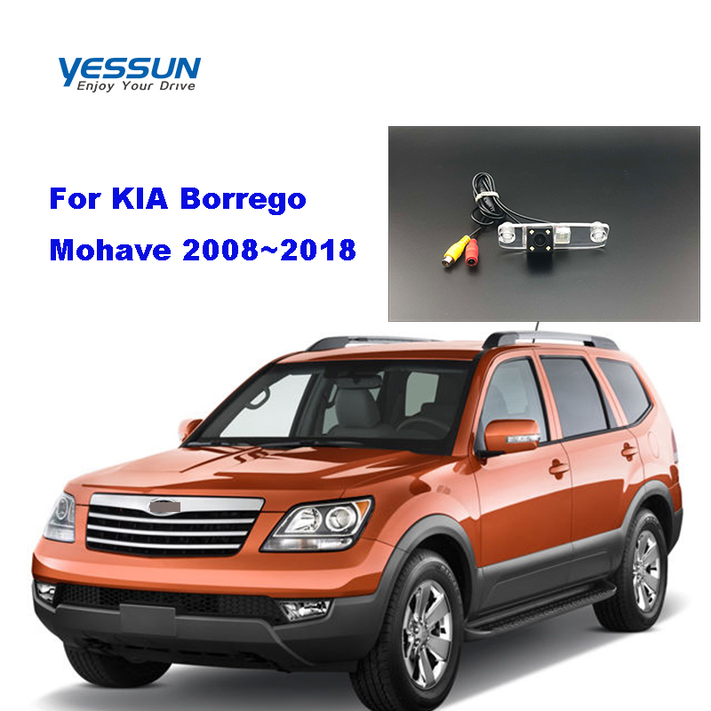 Yessun License palte camera For KIA Borrego  Mohave 2008~2018 View camera Parking Assistance(China)