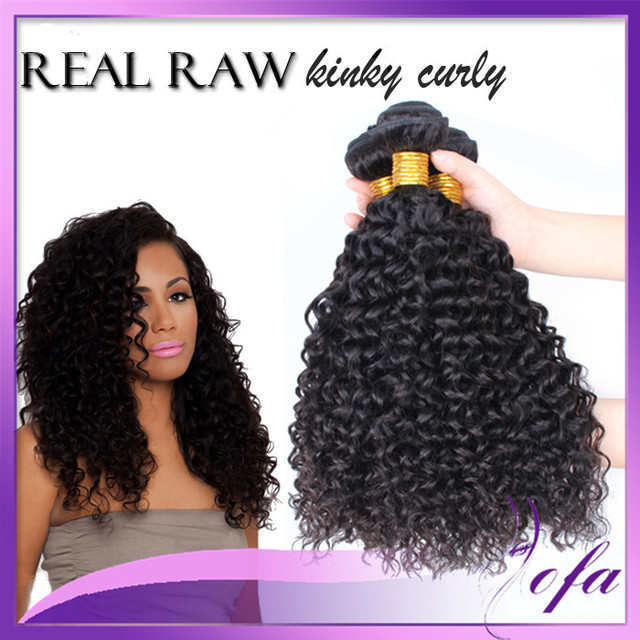 Bohemian Curl Hair Kinky Curly Hair Weave Tight Curly Hair