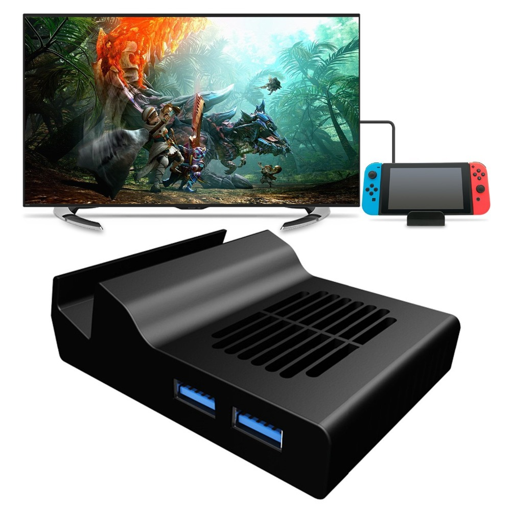 Portable Dock Stand for Nintendo Switch Replacement Dock With Electronic Chip for Nintendo Switch цена и фото