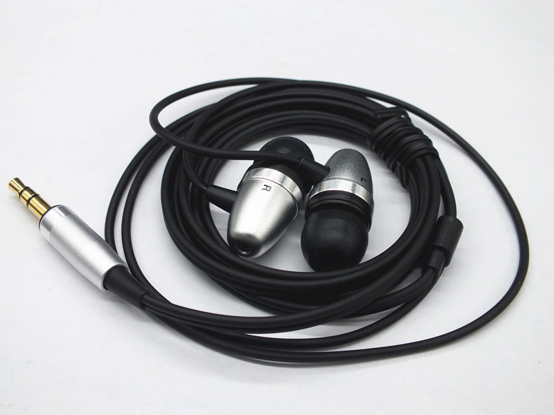 Professional HD In-Ear Earphone Metal Heavy Bass Sound Quality Music Earphone High-End Brand Headset