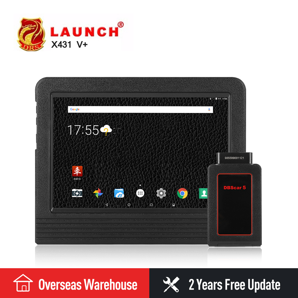 Presale Launch X431 V plus X431 pro3 Automotive Scanner OBD2 Auto Diagnostic Tool Bluetooth Wifi Full System Android 7.1 Scanner launch easydiag 2 0 plus automotive obd2 diagnostic tool obdii bluetooth adapter scanner for ios android