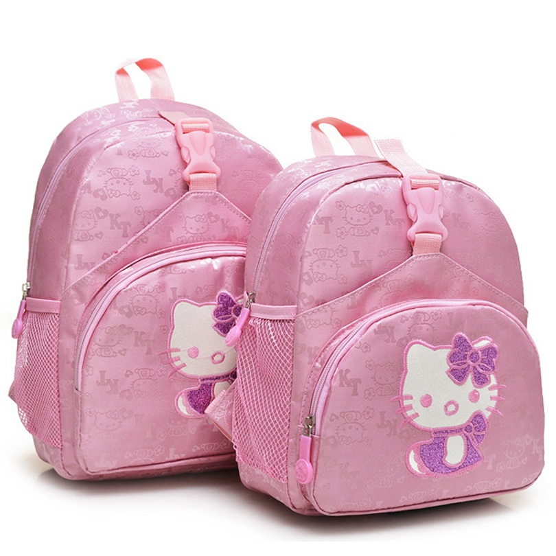 21f6bec1c3 Cute Hello Kitty Children s Backpack Girls Animation Cartoon Autobots  School Bags For Girls Primary Students Backpacks FY160-in School Bags from  Luggage ...