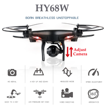 HY68W Quadrocopter Rc Drones With Camera Copter With Camera Drone Dron Altitude Hold Quadcopter Rc Helicopters Toys For children