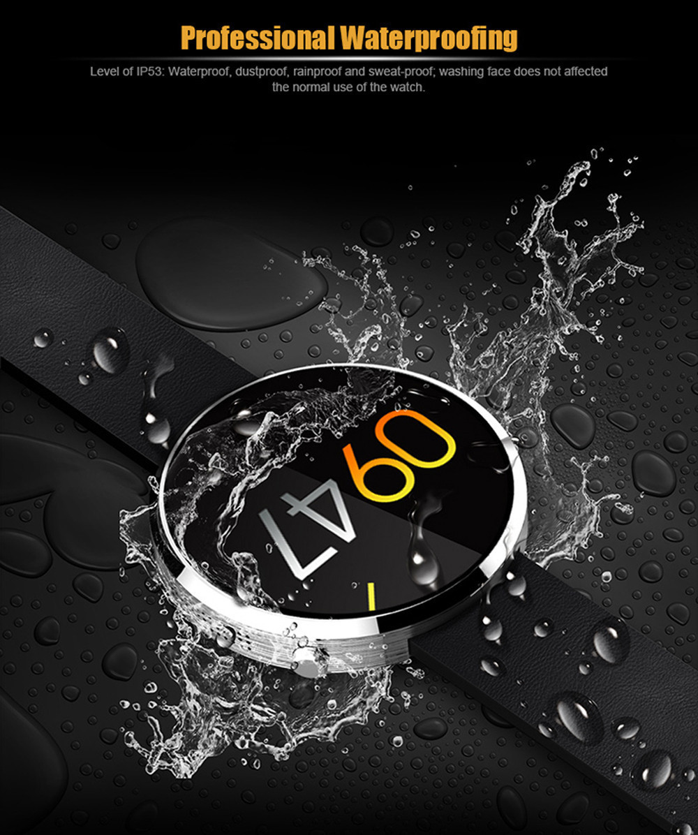 Venta caliente DM360 Smartwatch Bluetooth reloj inteligente para IOS Andriod del