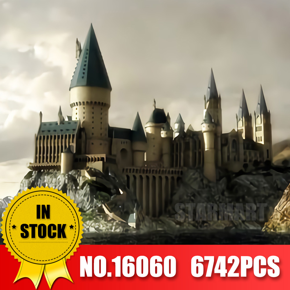 Lepin Harry Magia Potter 16060 Hogwartsed Castello Compatibile Legoingl 71043 Building Blocks Mattoni Bambini Giocattoli Educativi FAI DA TE