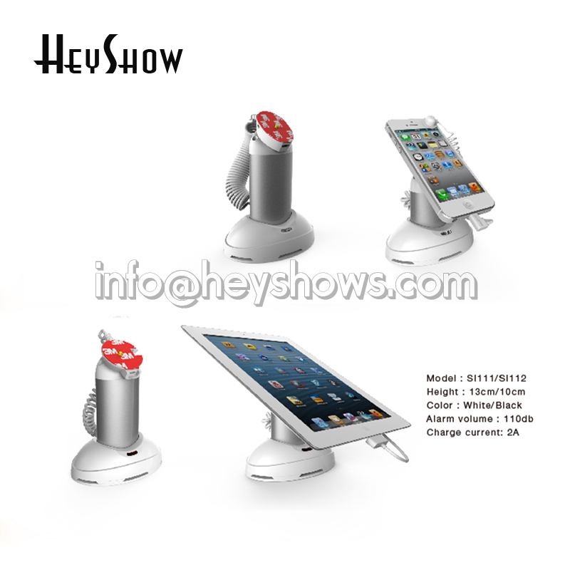 Mobile Phone Security Display Stand for iphone Anti Theft Holder System Tablet Ipad Burglar Alarm in Retail Apple Store mobile phone security stand tablet display alarm laptop burglar alarm ipad lock sensors holder retail pc anti theft device