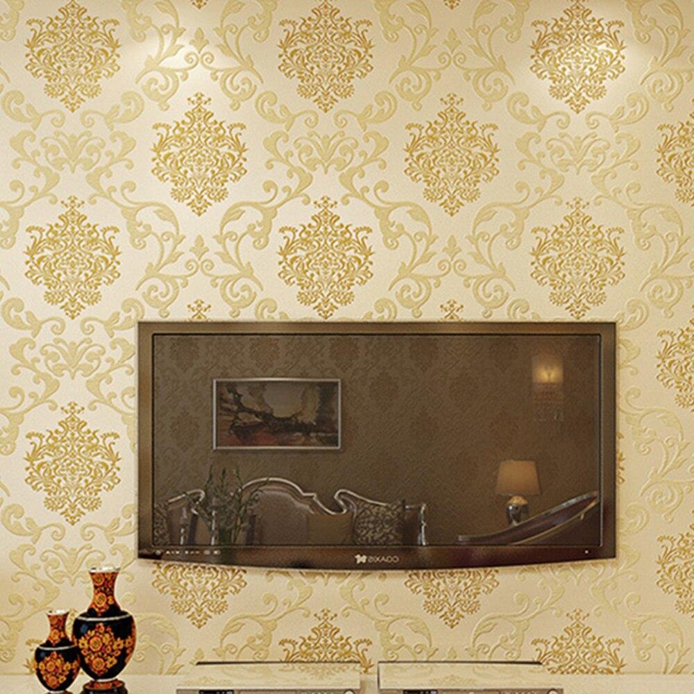Online kopen wholesale goud behang ontwerpen uit china goud behang ...