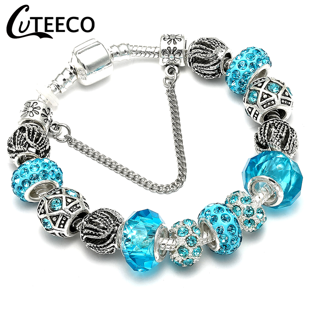 Jewelry & Accessories Spinner 2017 New Colorful Designs Silver Plated Dangling Charm Beads Fit Pandora Charm Bracelets&bangles For Women Diy Jewelry Choice Materials Beads & Jewelry Making