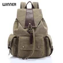 d6cfae4d48 Winner Brand Women Big Backpack for Teenage Girl Casual Back Bag Schoolbag  Lady String Backpacks Female