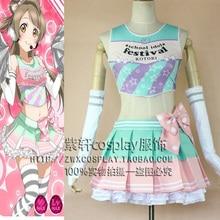 Japonés Anime Love Live Minami Kotori Cosplay lovelive Lolita Uniformes de Porristas