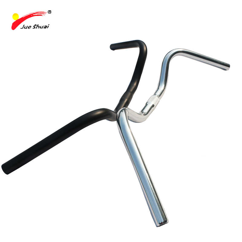Bicycle Vintage Handle Aluminum Cruisers Street City Bike Handlebar 25.4 cm Stem