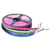 Cam Xanh Lá Hồng Màu Xanh Tím SMD 5050 Keo Neon LED strip ánh sáng linh hoạt Waterproof 60LED/m 5 mét/lô