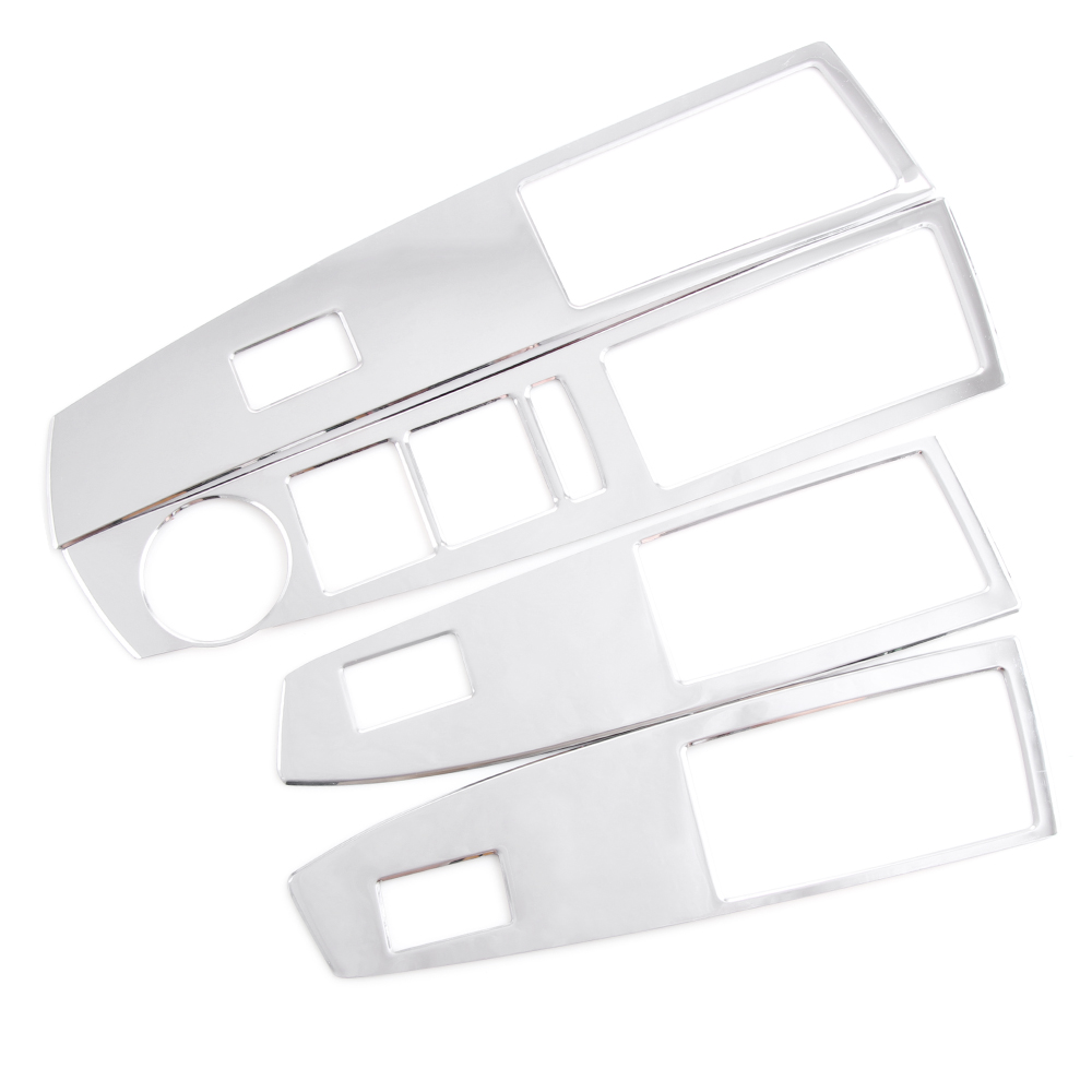Image 2 - Thie2e Stainless Steel Car Interior Decoration Door Window Switch Cover Trims For Chevrolet Cruze 2009 2013,Car Accessories-in Car Stickers from Automobiles & Motorcycles