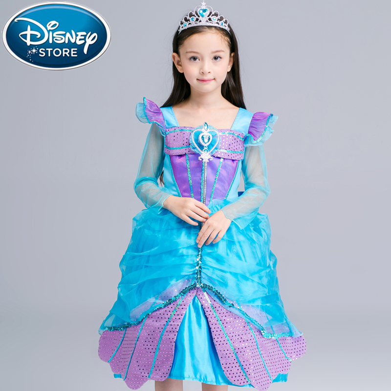 Kids Cosplay Costume Dress Cinderella Elsa Baby Girls: Disney Frozen Dress Elsa Baby Girls Costumes Snow Queen