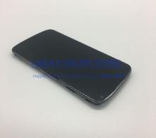 Купить 100% тестирование E960 Дисплей для LG Google Nexus 4 E960 ЖК-дисплей Дисплей Сенсорный экран планшета Assembl с рамкой кадра + Инструменты