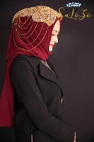 2019 multi color beading Shawl Wrap Muslim Scarf Hijabs for women
